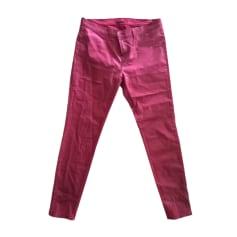 Skinny Jeans J BRAND Red, burgundy
