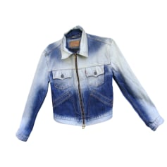Denim Zipped Jacket LEVI'S Blue, navy, turquoise