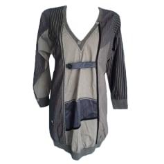 Midi-Kleid DESIGUAL Grau, anthrazit