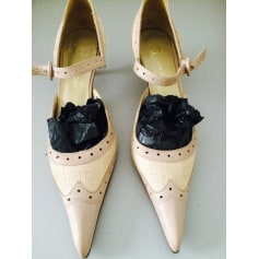 Sandales à talons CARLA GOUROV cuir noir 41 9pKHary