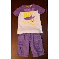 Shorts Set, Outfit OKAÏDI Purple, mauve, lavender