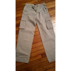 Pantalon large QUIKSILVER Blanc, blanc cassé, écru