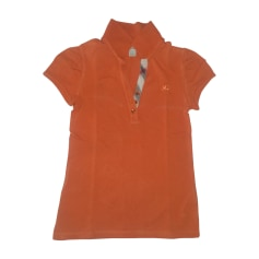 Polo BURBERRY Orange