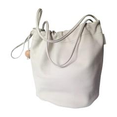 Lederhandtasche FURLA Weiß, elfenbeinfarben