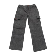 Pants JACADI Gray, charcoal