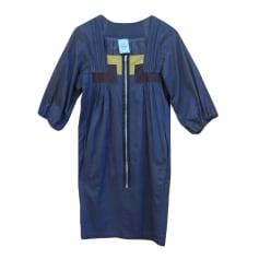 Robe mi-longue APRIL MAY Gris, anthracite