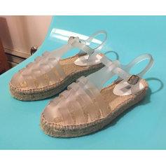 Sandales plates MELISSA & ISABELA CAPETO caoutchouc bleu 38 kplQElnQMS