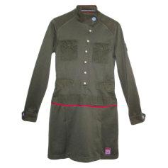 Robe courte ADIDAS Kaki