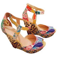 Wedge Sandals NINE WEST Multicolor