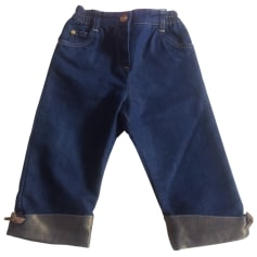 Pantalon BABY DIOR Bleu, bleu marine, bleu turquoise
