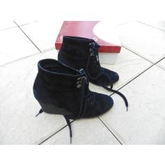 Bottines & low boots à compensés ANDRÉ Noir