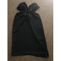 Robe courte AQUA Noir