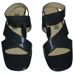 Sandales à talons BALDININI Bleu, bleu marine, bleu turquoise