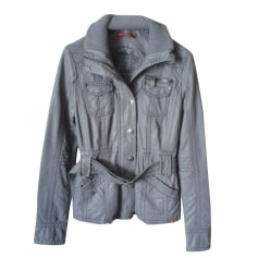 Zipped Jacket EDC BY ESPRIT Gray, charcoal
