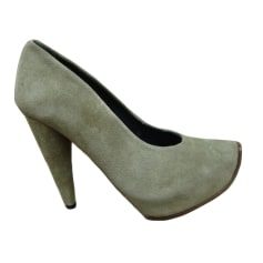 Escarpins ACNE Gris, anthracite
