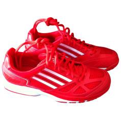 Chaussures de sport ADIDAS Rouge, bordeaux