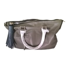 Leather Handbag ANYA HINDMARCH Beige, camel
