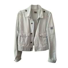 Jacket DIESEL White, off-white, ecru