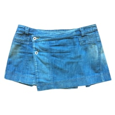 Gonna di jeans DIESEL Blu, blu navy, turchese