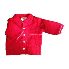 Manteau BABY DIOR Rouge, bordeaux