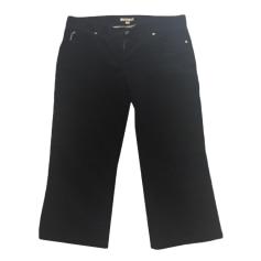 Pantalone a pinocchietto, pantalone alla pescatora BURBERRY Nero