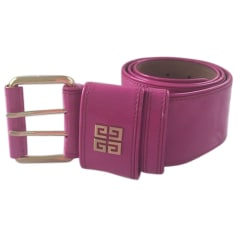 Wide Belt GIVENCHY Pink, fuchsia, light pink