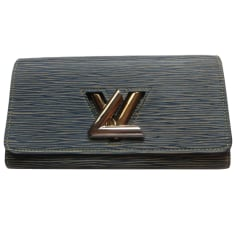 Wallet LOUIS VUITTON Blue, navy, turquoise