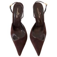 Sandales à talons ALEXANDRA NEEL Marron