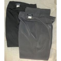 Pantalon évasé Ficelle  pas cher