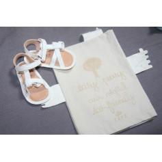 Sandals EASY PEASY White, off-white, ecru