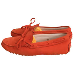 Mokassins TOD'S Orange