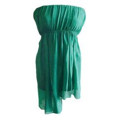 Robe bustier SANDRO Vert