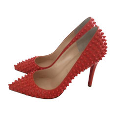 Pumps, Heels CHRISTIAN LOUBOUTIN Pigalle Coral
