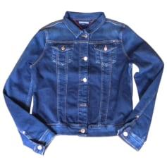 Blouson en jean TOMMY HILFIGER Bleu, bleu marine, bleu turquoise