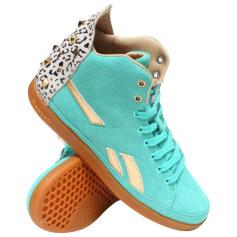 Baskets REEBOK Bleu, bleu marine, bleu turquoise