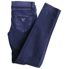 Pantalon GUESS Violet, mauve, lavande