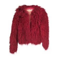 Fur Jackets JOHN GALLIANO Red, burgundy