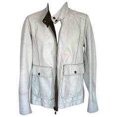 Leather Jacket DOLCE & GABBANA Brown