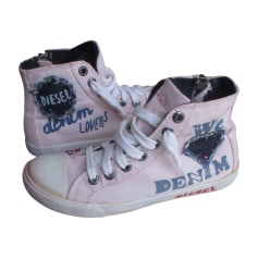 Sneakers DIESEL Pink, fuchsia, light pink