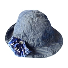 Hat JEAN BOURGET Blue, navy, turquoise