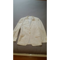 Costume complet ZARA Blanc, blanc cassé, écru