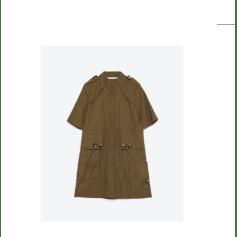 Robe tunique ZARA Kaki