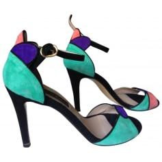 Sandales à talons  GAIA D'ESTE Multicouleur