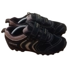 Velcro Shoes GEOX Black