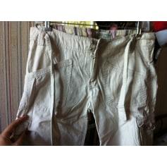 Pantalon très evasé, patte d'éléphant Bershka  pas cher