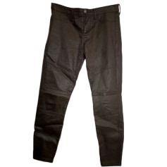 Pantalon slim, cigarette BANANA REPUBLIC Vert