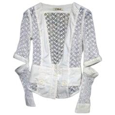 Blusa CHLOÉ Bianco, bianco sporco, ecru