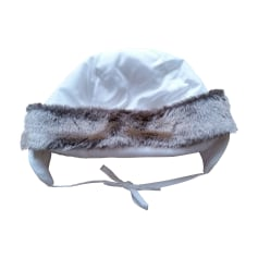 Bonnet JACADI Blanc, blanc cassé, écru