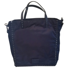 Tote Bag VALENTINO Blue, navy, turquoise