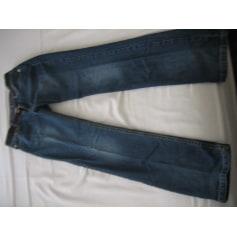 Jeans slim MADAME A PARIS Bleu, bleu marine, bleu turquoise
